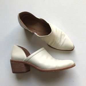 Madewell The Brady Lowcut Bootie Chunky White Shoe